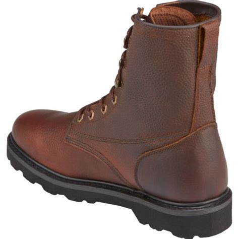 justin light up boots justin s premium light duty lace up work boots academy