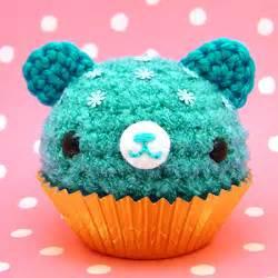 amigurumi blue cupcake bear www amigurumikingdom etsy com flickr