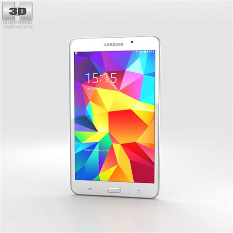 Samsung Tab 4 7 Inch Second samsung galaxy tab 4 7 0 inch white 3d model hum3d