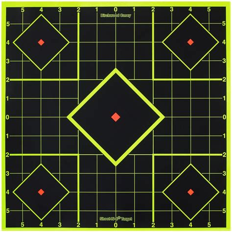 printable targets rifle sighting 8 quot birchwood casey 174 shoot n c 174 self adhesive sight