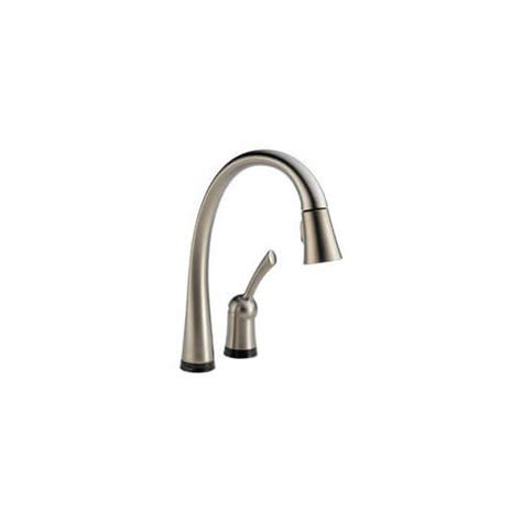 touch activated kitchen faucets 980t ss dst delta 980t ss dst touch activated single