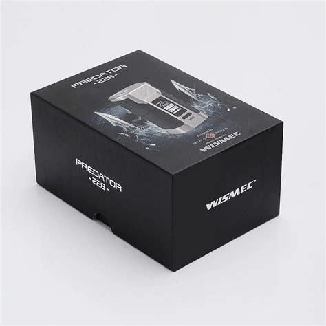 Wismec Predator 228w Box Mod Vape Authentic Asli Murah authentic wismec predator 228 228w tc vw variable