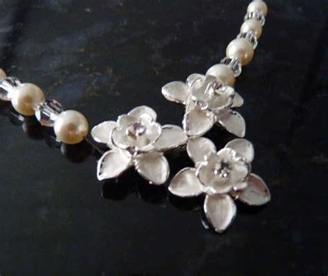 Kette Perlen Hochzeit by Rosenbl 252 Ten Perlenkette Hochzeit