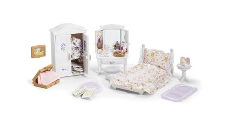 calico critters deluxe floral bedroom set buy   uae toys  games products