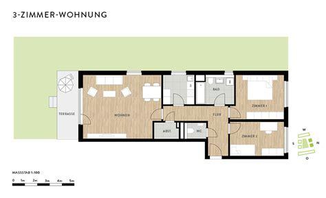 90 quadratmeter wohnung grundriss 3 zimmer die neuesten innenarchitekturideen
