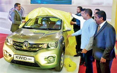 renault amw amw introduces renault s kwid amt to sri lanka daily
