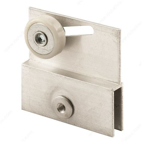 Shower Door Roller Shower Door Bracket With Roller Richelieu Hardware