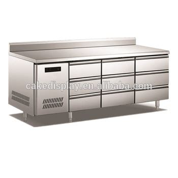 under bench fridge drawers 9 drawers stainless steel commercial undercounter fridge