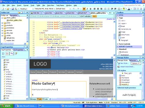 web layout view office 2007 sharepoint designer aynise benne