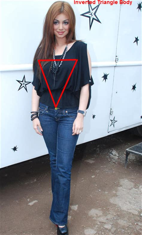 picture of inverted triangle shaped women with large belly how to choose ethnic wear designer kurtis and tunic as