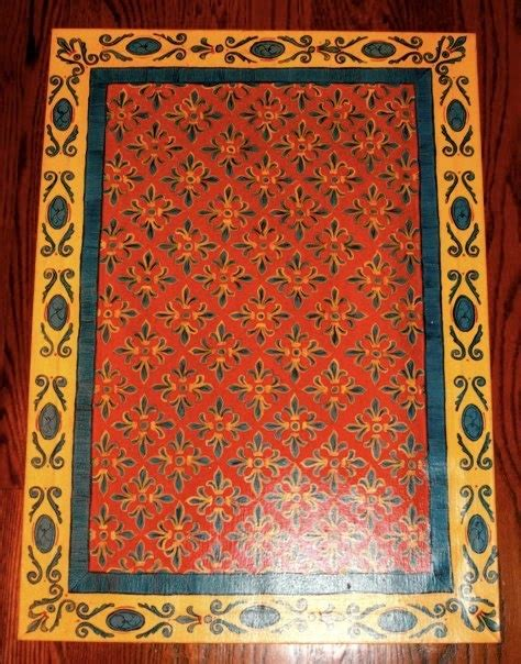 1000  images about Floor cloth DIY on Pinterest   Painted