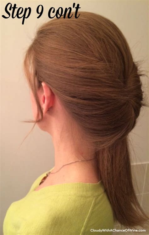quick and easy hairstyles when running late quick easy running late hairstyle
