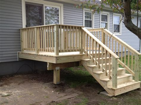 porch deck custom decks porches ac wood berkshire country contracting