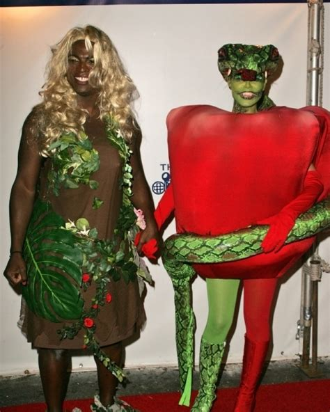 Seal And Heidi Klumjeremy Piven by Celebrating In Costumes