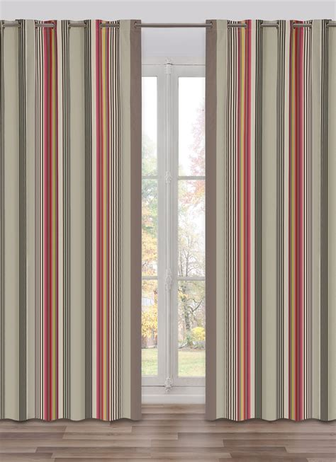 stripe curtain panel curtain panel stripe larrau multi colors grey stripes