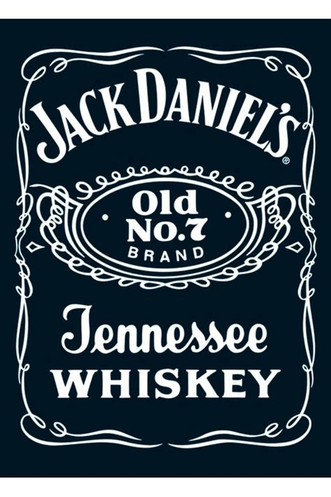 design jack daniels label drink posters drinking posters calendar toy action
