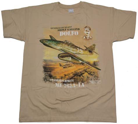 Tshirt Adolf 3 t shirt adolf galland dolfo messerschmitt in rac