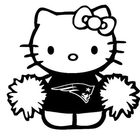 hello kitty soccer coloring pages new custom screen printed t shirt hello kitty patriots
