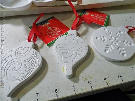 christmas crafts for kids from paris scandinavian plaster ornaments crafts by amanda