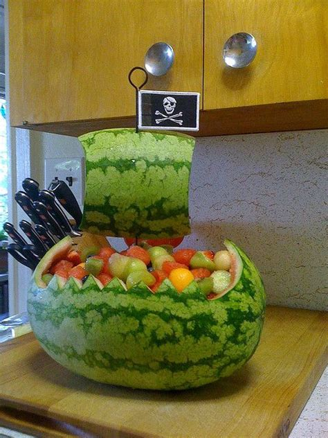 where the wild things are watermelon boat best 25 pirate ship watermelon ideas on pinterest how