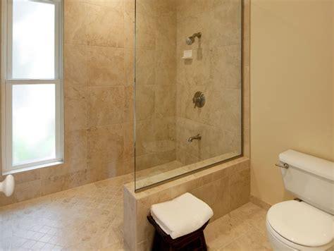 Doorless Shower Small Bathroom Home Design Doorless Shower Small Bathroom