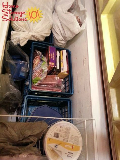 can you place a chest freezer on a carpeted floor organizing a chest freezer ideas solutions