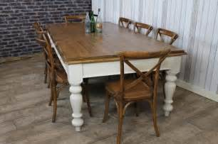 Farmhouse Kitchen Table Pine Farmhouse Table Large Antique Pine Dining Kitchen Table