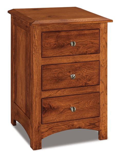 how tall are nightstands 3 drawer nightstand tall amish furniture store mankato mn