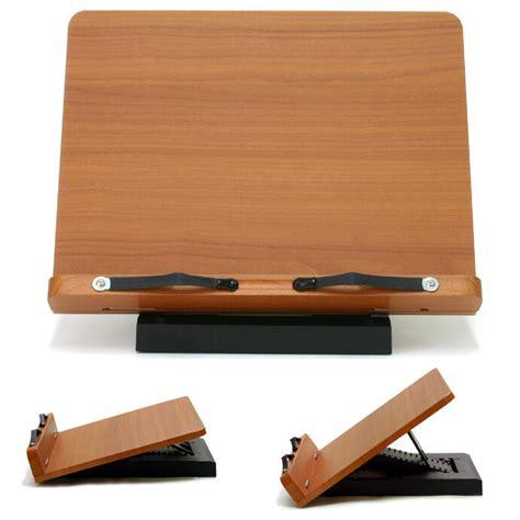 book stand desk book stand portable wooden reading desk holder a ebay