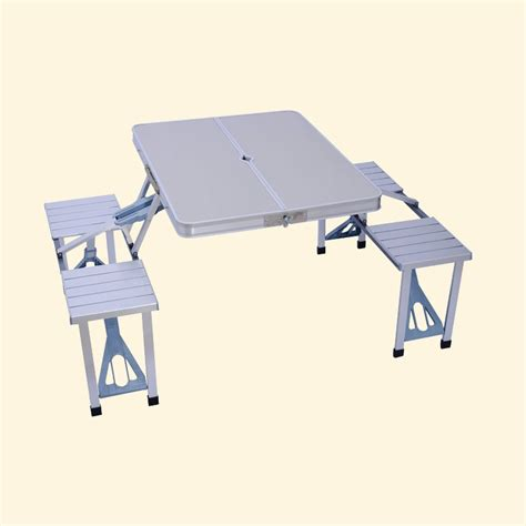 Outdoor Folding Table And Chairs Outdoor Aluminum Folding Tables And Chairs Set Cing Table Barbecue Stall In Outdoor