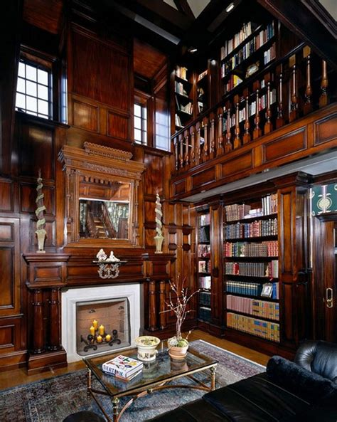 25 stunning home libraries messagenote