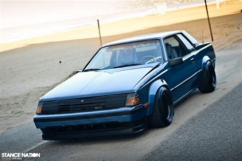 stanced toyota celica low n slow toyota celica vw passat stancenation