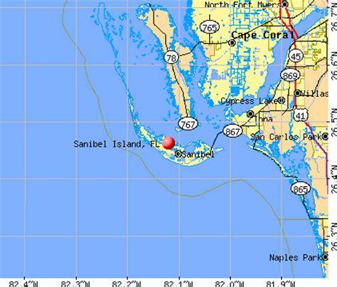 map of the islands and florida florida sanibel island map