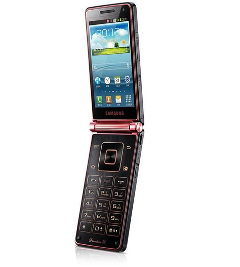 Samsung Flip samsung goes official with sch w2013 dual screen flip