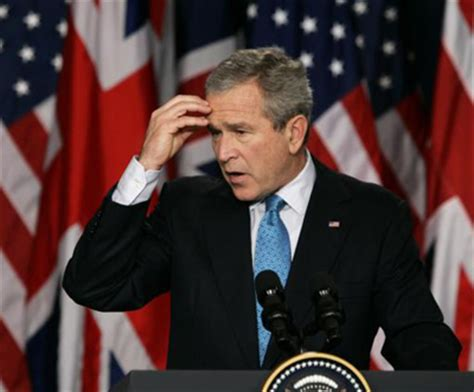 Bush Only President With Mba by Former Us President George W Bush Accidentally Votes For