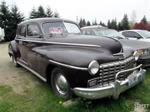 the peep 1948 dodge d24 sedan