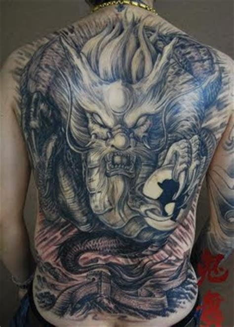 tattoo naga china gambar tattoo naga china chinese dragon tattoo koleksi