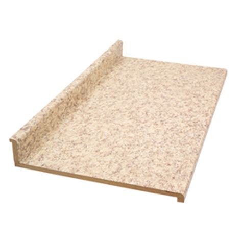 Lowes Countertops In Stock by Shop Belanger Laminate Countertops 4 Ft Quartz