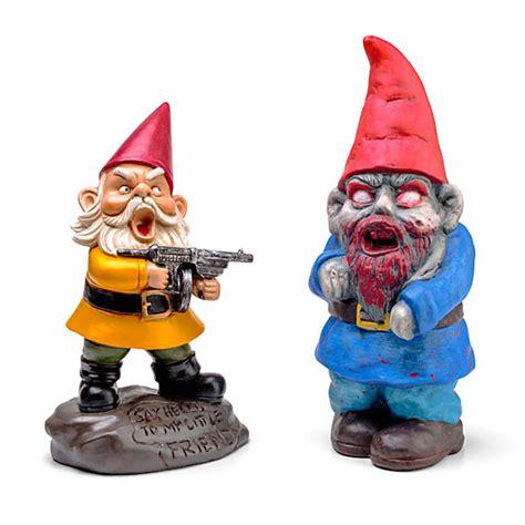 Gnomes by Zombie Garden Gnomes Aren T As Creepy As Normal Garden