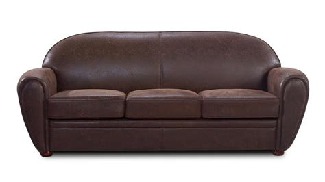 canape cuir vieilli vintage canap 233 en tissu imitation cuir 3 places ultra confort