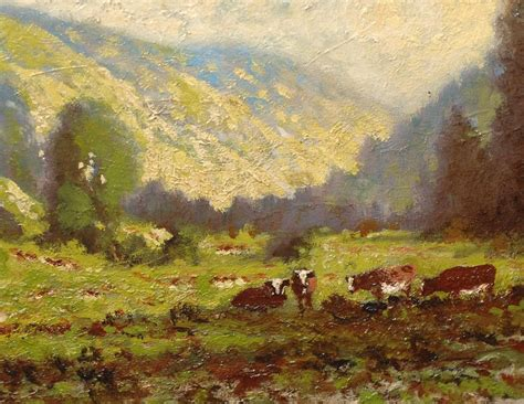 california impressionist landscape painting by carl
