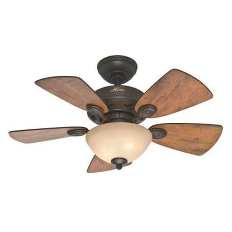 home depot small ceiling fans watson 34 in new bronze ceiling fan 52090 the
