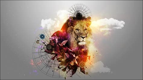 wallpaper abstract lion abstract lion pictures to pin on pinterest pinsdaddy