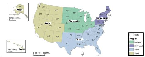 geographic regions of the united states map map of us geographic regions united states geography
