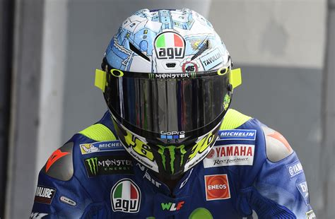Helm Agv Gp R Tavullia it s agv s 70th anniversary