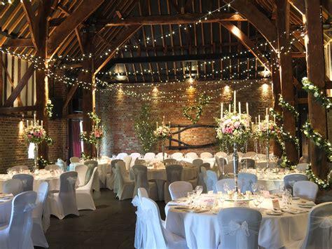 the tithe barn wedding venue in kent a wedding reception decorations