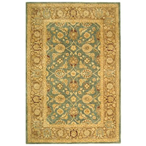 brown accent rug safavieh anatolia blue brown area rug reviews wayfair