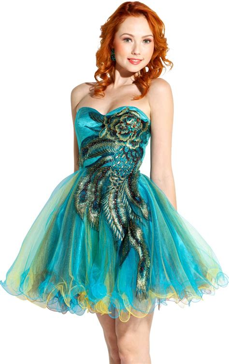 Your Budget With These Con Galaxy Style Dresses by Peacock Prom Dresses Peacock Dresses 2013 2014
