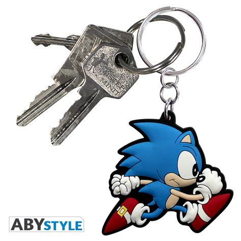 Pvc Sonic sonic keychain pvc sonic abystyle