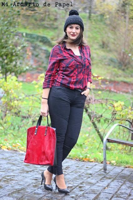 camisa a cuadros roja outfit camisa de cuadros roja paperblog